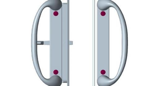 豪华门锁SHD-1