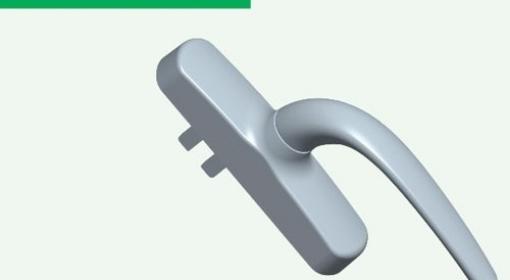 多点锁执手SB011